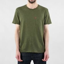 Levis® Men's Sunset Pocket Short Sleeve Cotton T-shirt Sea Moss Heather Green