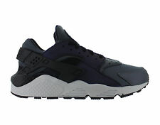 Mens Nike Air Huarache Run Premium Dark Grey Black Pure Platinum 704830-007