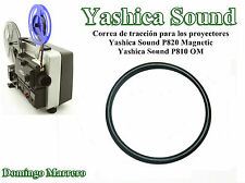 Correa Proyector Super 8 - Yashica Sound P810 OM y P820 Magnetic