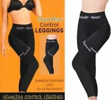 Ladies Seamless Control High Waist Tummy Slimming Shape Leggings Small to 3XL