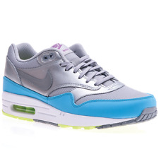 Nike Air Max 1 FB 579920004 argent baskets basses
