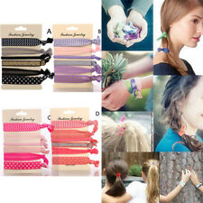 Hairband Ponytail Holder Elastic Hair Ties Set Hair Band Ropes For Women Girls