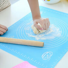 1Pc Non-Stick Silicone Mat Rolling Dough Liner Pad Pastry Cake Bakeware Paste Fl