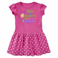 Inktastic This Chick Is Eggspecting To Be A Big Sister With Egg And Infant Dress