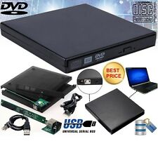 USB 2.0 To SATA or IDE Laptop CD DVD RW Rom External Drive Caddy Enclosure Case