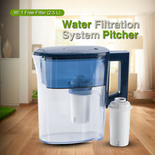 2 5l Water Filter Pitcher Instant Drinking Purifier Carbon