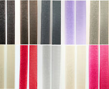 10 colors to choose 20mm (2cm) wide, Sew-on Hook & Loop tape fastener for fabric