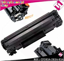 TONER NERO CF283A 283A 83A COMPATIBILE PER STAMPANTI ICT HP NO ORIGINAL