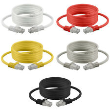 Cable de red Latiguillo RJ45 CAT 7 S/FTP LAN DSL Router Internet 0,25m - 50m
