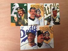 Leaf BASEBALL 1993 Trading Cards  - Select Your Cards