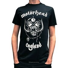 MOTORHEAD ENGLAND T-SHIRT- 100% OFFICIAL MERCHANDISE