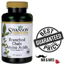 Swanson Branched Chain Amino Acids  100 Caps * Improve your exercise performance