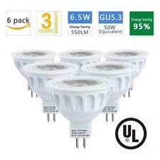 MR16 LED Bulbs, 50W Halogen Bulb Equivalent, AC/DC 12V, 6.5W 550lm,4000K...