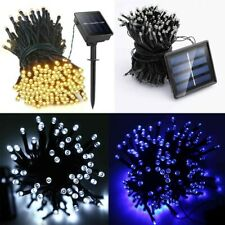 100-500 LED Waterproof Solar Powered Fairy String Lights Outdoor Garden Party