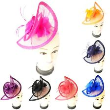 Ladies Large Headband and Clip Hat Fascinator Weddings Special Day Race Royal
