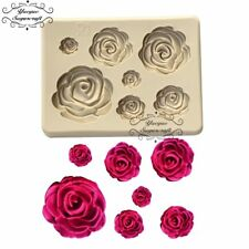Yueyue Sugarcraft Flower Silicone Mold Fondant Mold Cake Decorating Tools Chocol
