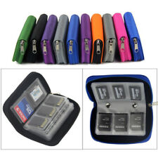 Card Storage Carrying Case Holder Wallet 18Slots + 4 Slots Carrying Pouch Protec