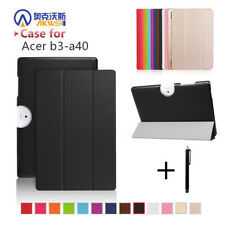 """Cover Case For Acer Iconia One 10 B3-A40 2017 Release 10"""" Tablet Folio Pu Leathe"""