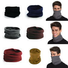 Neck Warmer Fleece Men Scarf Tube Cycling Motorcycle Motorbike Hiking Ski Snood