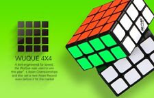 Qiyi / Mo Fang Ge 4x4x4 Wuque Speedcube puzzle- world record cube!