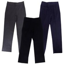 girls school trousers navy black grey 2,3,4,5,6,7,8,9,10,11,12,13,14,15,16 years