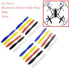 4pc Propeller Prop CW CCW for Parrot Minidrones 3 Mambo Swing RC Drone Part Nice