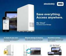 WD MY Cloud 2TB, 3TB, 4TB Personal Network Attached Storage- Everything-Anywhere