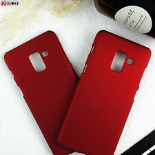 Samsung A8 2018 Case Hybrid Frosted Hard Plastic Back Cover For Samsung