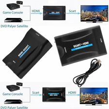 1080P HDMI To SCART Composite Video Scaler Converter Audio Adapter for HDTV DVD