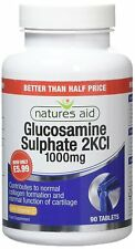 Natures Aid 1000mg Glucosamine Sulphate 2KCL And Vitamin C Pack Of 90 Tablets