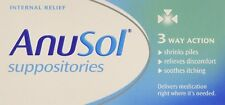 Anusol Haemorrhoids Piles Treatment 24 Suppositories, internal relief