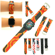 2018 Replacement Sport Silicone Wrist Band Strap For Apple Watch iWatch 38/42mm