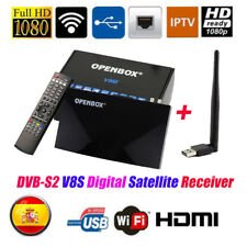 FTA V8 PRO Satellite TV Receiver DVB-S2 HD 1080P Support YouTube WebTV Ipt1