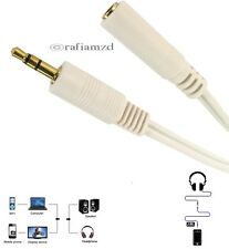 3.5mm Jack Stereo Plug to Socket Male to Female Extension Cable Headphone MP3 PC