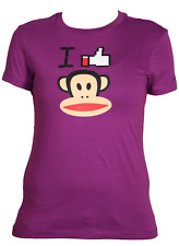 Paul Frank I Love Julius T-Shirt Donna FHPFAW60014 AEB Aegean Blue