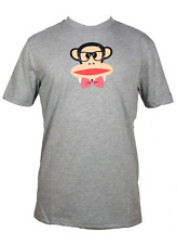 Paul Frank Julius Bow Tie T-Shirt Uomo FHPFAW60021 HGR Heather Grey