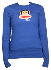 Paul Frank Julius Head LS T-Shirt Donna FHPFAW62000 NBL Nautical Blue