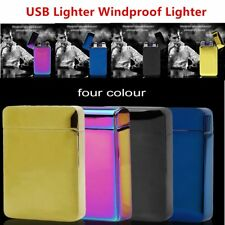 JL903 Double Arc Induction Charging Electronic USB Lighter Windproof Lighter VE