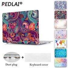 Redlai Colors Crystal Clear Laptop Case For Macbook Pro 13.3 15.4 Retina Air 13.