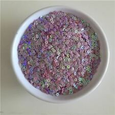 3mm Round Flat Loose Sequins for Crafts Clothing Dress Decoration Sewing Garment