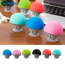 Mini Bluetooth Speaker Portable Mushroom Stereo Wireless Sucker Stand Fungus