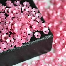 6mm Plum blossom Sequin Flat Round PVC Loose Sequins for Crafts Paillette Sewing