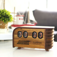 The Vintage Nixie Clock - Art Deco Design with Soviet Nixie Tubes Made During th