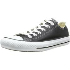 Converse Chuck Taylor All Star Ox Nero In Pelle Trainers