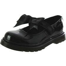 Dr Martens Maccy II J Nero Brevetto Junior Mary Jane Scarpe