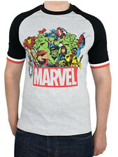 Mens Marvel Avengers T- shirt Thor, Hulk,Spider-man,Iron man and Captain America