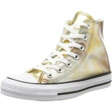 Converse Chuck Taylor All Star Hi Argento/Oro Tessile Trainers