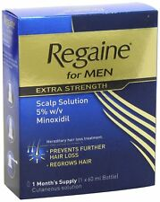 Regaine For Men Extra Strength Hair Loss 60ml (1 mnth) - Select Req'd Qty