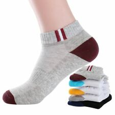 5 Pairs/lot Men Socks Durable Stitching Solid Color Fashion Sock Male Boy Comfor