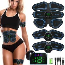 EMS Electric Muscle Stimulator Six Pack Pad ABS Lifter Fit Body TraIner Machine